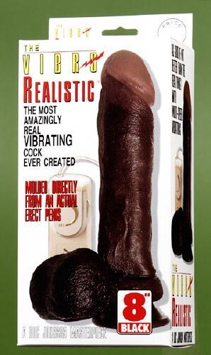 Coffret du gode réaliste black