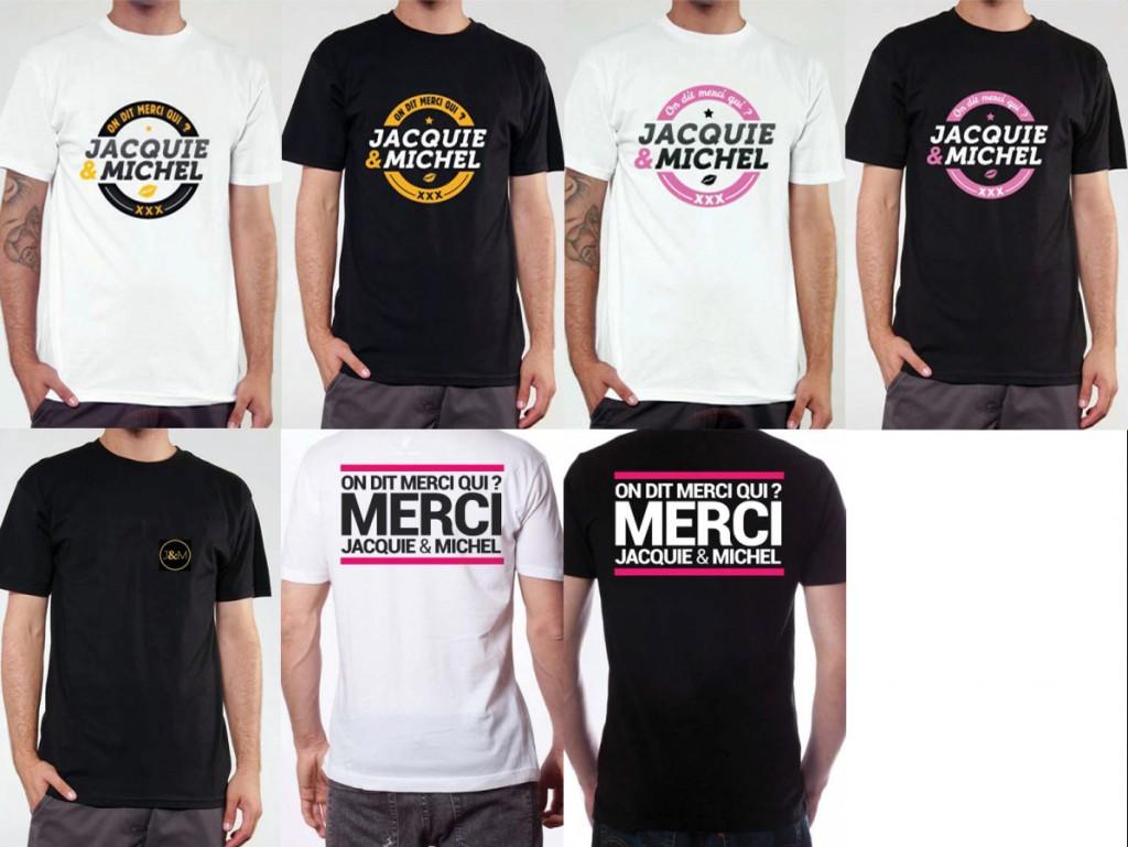 t-shirt Jacquie et Michel